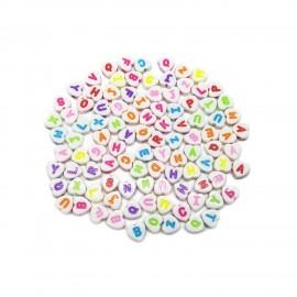 Alphabet Heart Beads