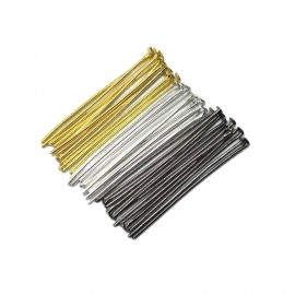 Head Pins 35 mm - Silver/Gold/Black Mixed