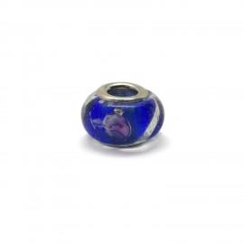 European Style Murano Glass Charm Beads - Swirl E