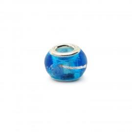 European Style Murano Glass Charm Beads - Swirl F