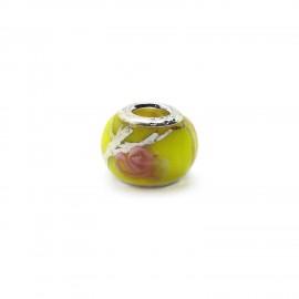 European Style Murano Glass Charm Beads - Swirl G