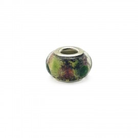 European Style Murano Glass Charm Beads - Dots G