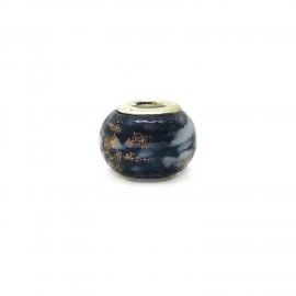 European Style Murano Glass Charm Beads - Smoky A