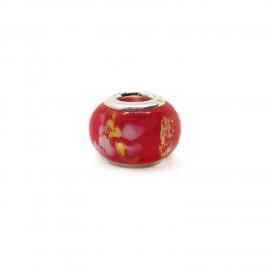 European Style Murano Glass Charm Beads - Smoky D