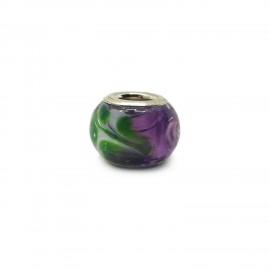 European Style Murano Glass Charm Beads - Paint A