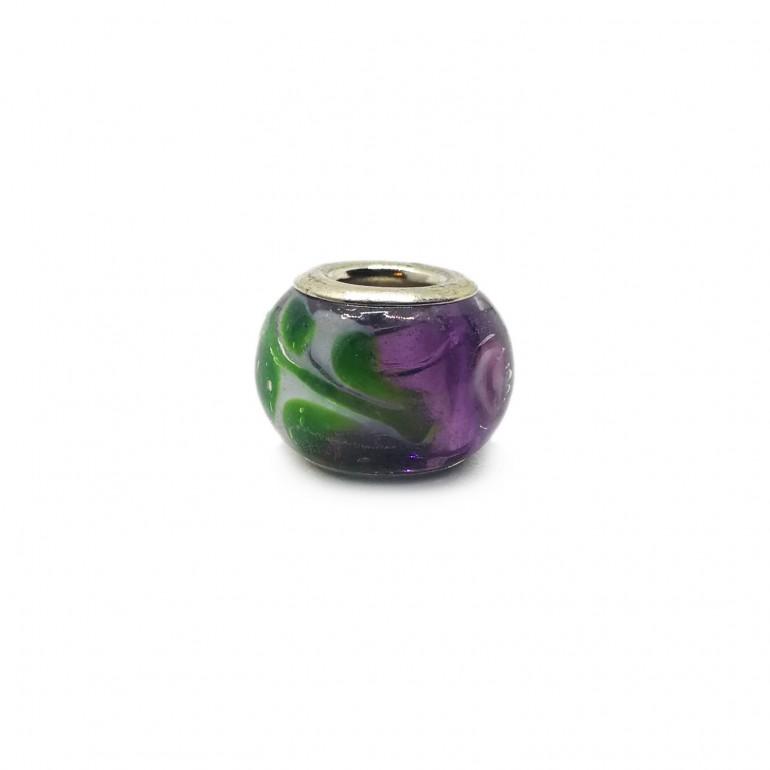0016a9f782a91 European Style Murano Glass Charm Beads ♯37