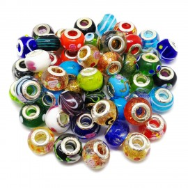 Assorted Murano Glass Beads