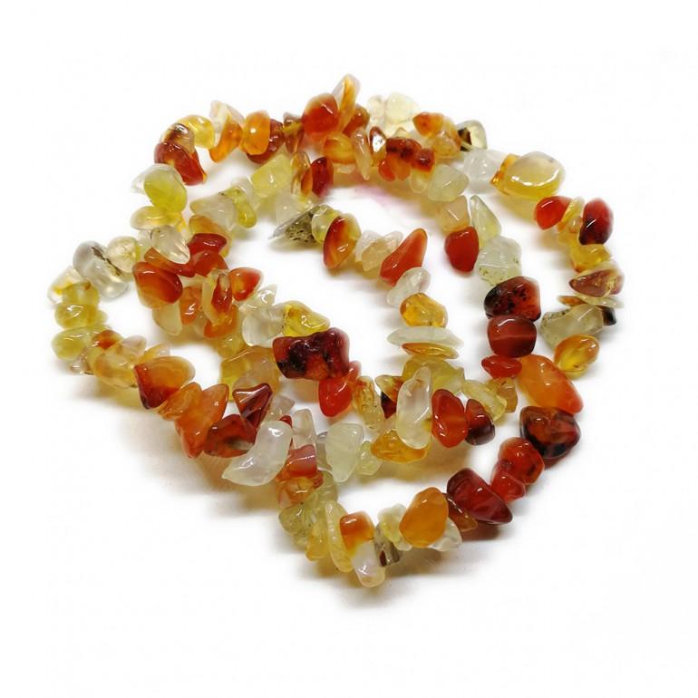 Agate Gemstone Chip Beads