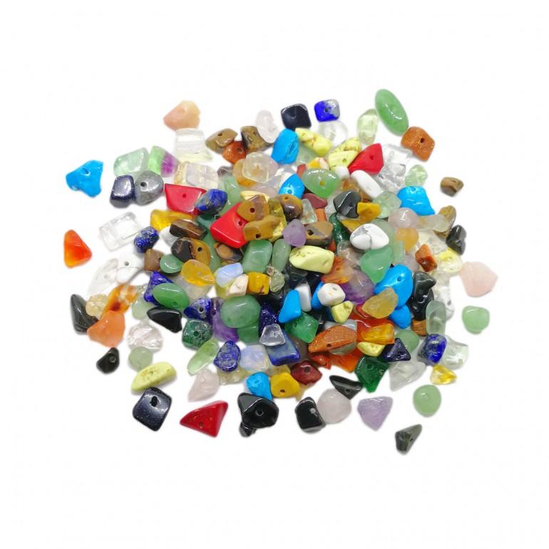 Loose Natural Gemstone Chip Beads 5~10 mm
