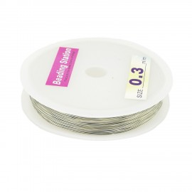Copper Wrapping Wire 0.3mm - Silver