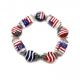 Flag of USA Elastic Bracelets