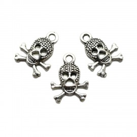 Skull Crossed Bones Charms