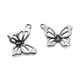 Hollow Butterfly Pendant Charm