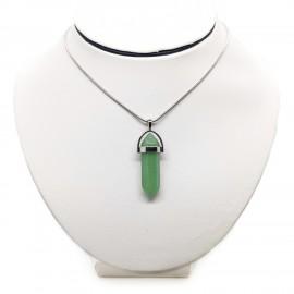 Green Aventurine Chakra Stone Pendant