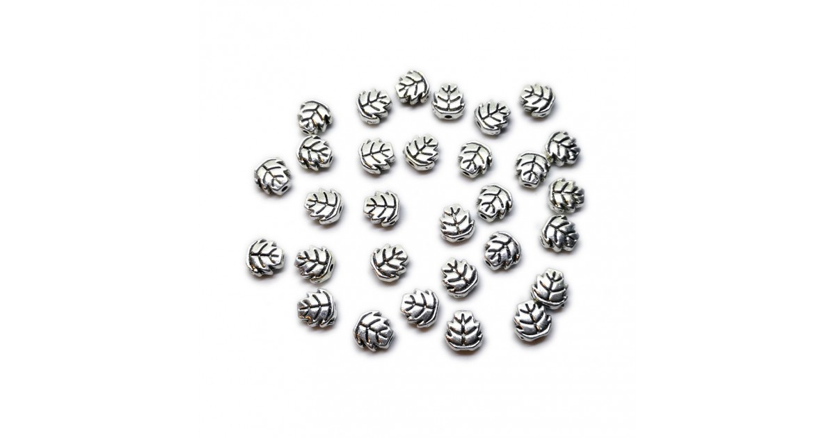 Leaf Shape Spacer Beads 7 mm