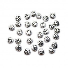 Leaf Shape Spacer Beads 7 mm