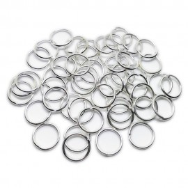 Open Jump Rings 12 mm - Silver