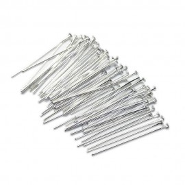 Head Pins 35 mm - Silver