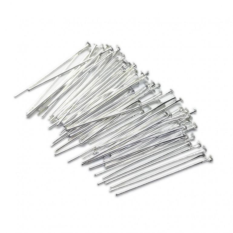 Head Pins 35 mm - Silver