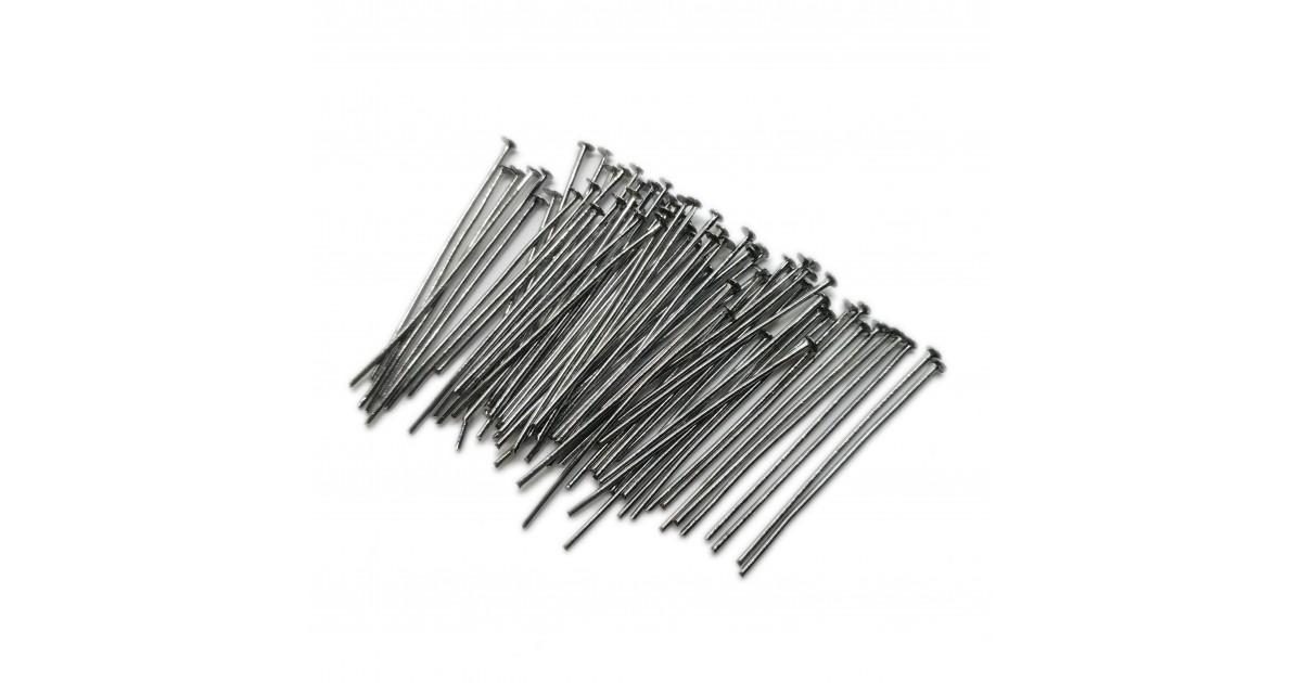 Head Pins 35 mm - Black