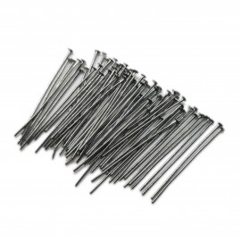 Head Pins 35 mm - Black