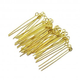 Eye Pins 35 mm - Gold