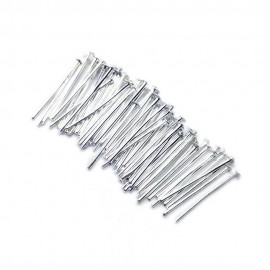 Head Pins 18 mm - Silver