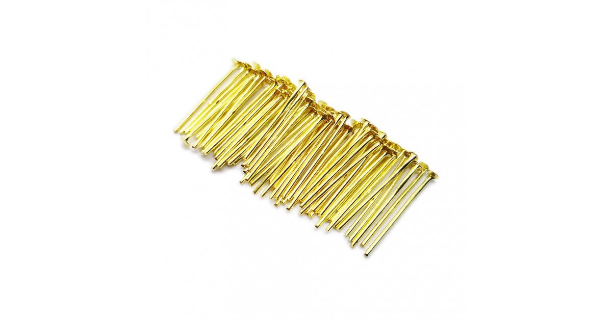 Head Pins 18 mm - Gold