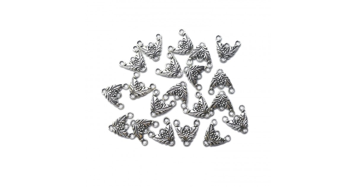 Flower 3 to 1 Earring Link Charms