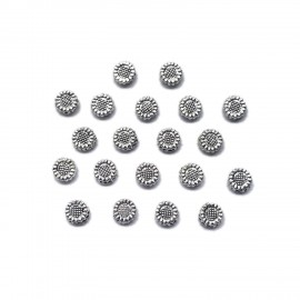 Sunflower Spacer Beads 6 mm