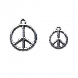 Peace Logo Charms