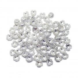 4-Leaf Filigree Bead Caps for Huge Beads