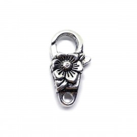Stylish Large Lobster Claw Clasp - Plum Blossom