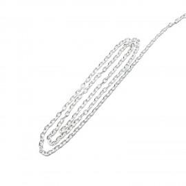 10-Feet Edging Chain 2 mm - Silver