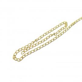 10 Feet Extender Chain 3 mm - Gold