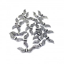Angel Wing Spacer Charm Beads - Style B