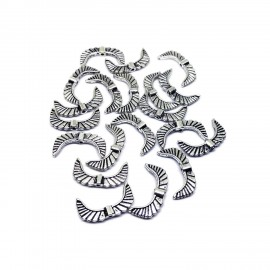 Angel Wing Spacer Charm Beads - Style E