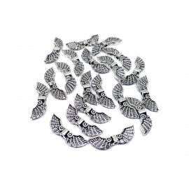Angel Wing Spacer Charm Beads - Style F