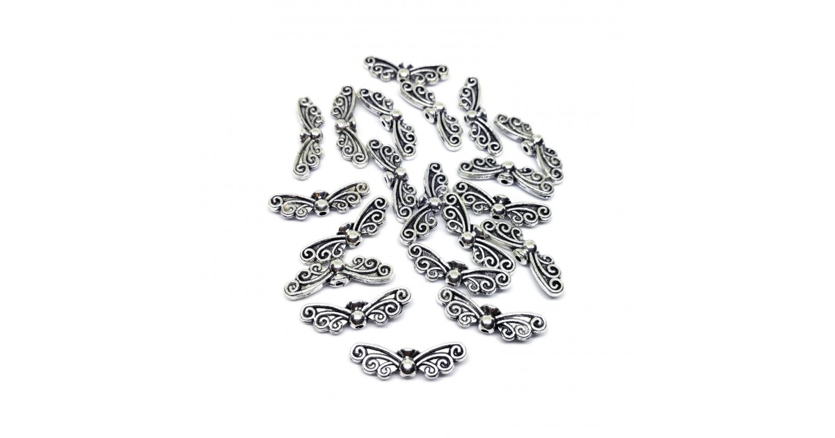 Butterfly Faery Wing Charm Beads